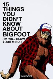 15 věcí, které jste o Bigfootovi nevěděli